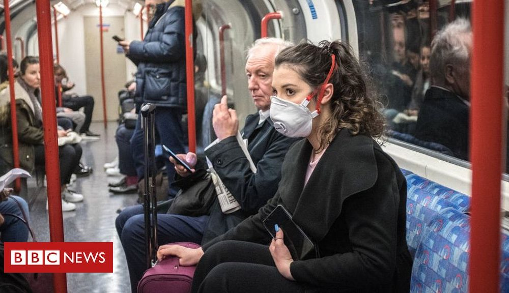 Coronavirus: What's the risk of flying or taking the train?