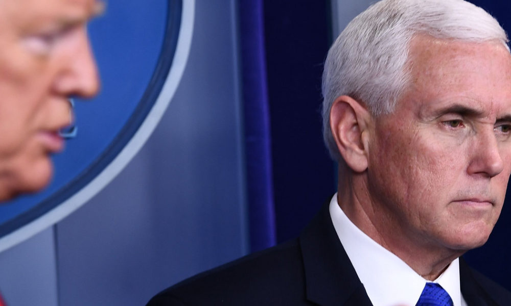 Member of Vice President Pence's Office Tests Positive for COVID-19