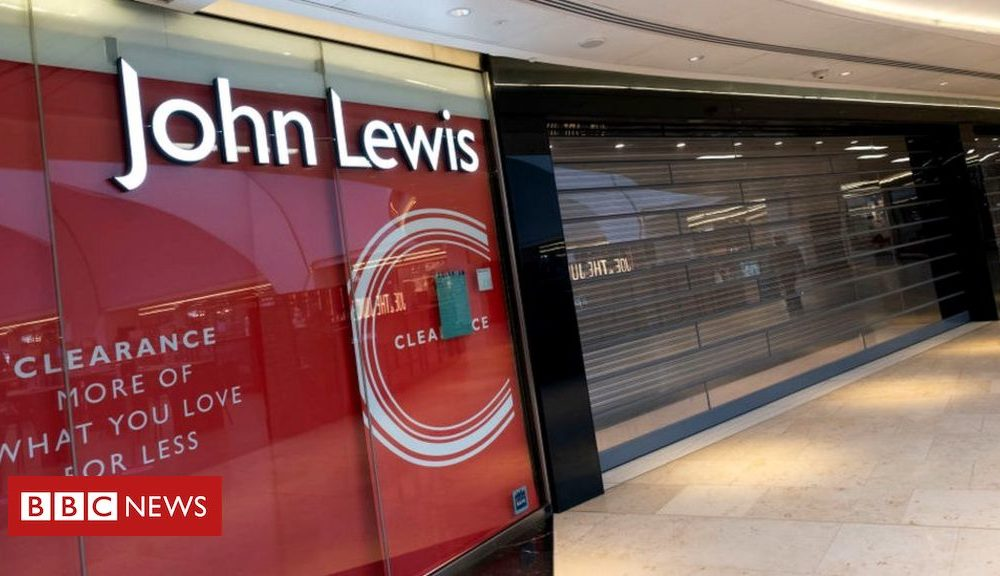 Your chance to live in a John Lewis store…sort of