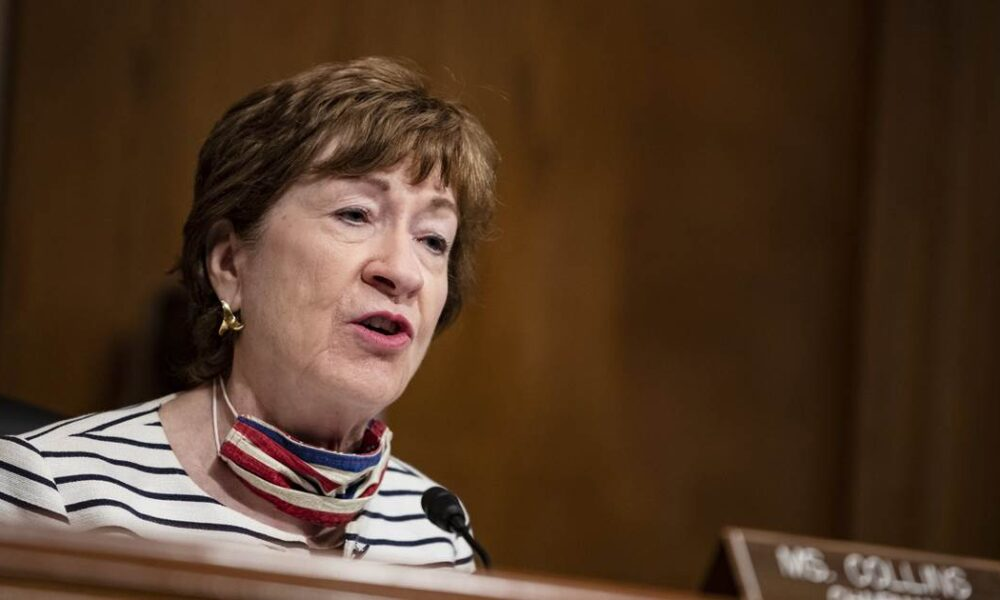 GOP Sen. Susan Collins splits with Trump: Wait until after the election to replace Ginsburg