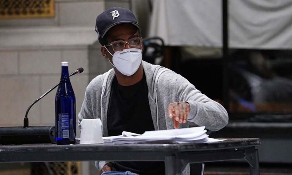See SNL cast and Chris Rock at socially distanced read-through